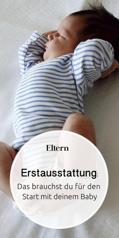 Baby-Erstausstattung – Alles für den Start mit Kind