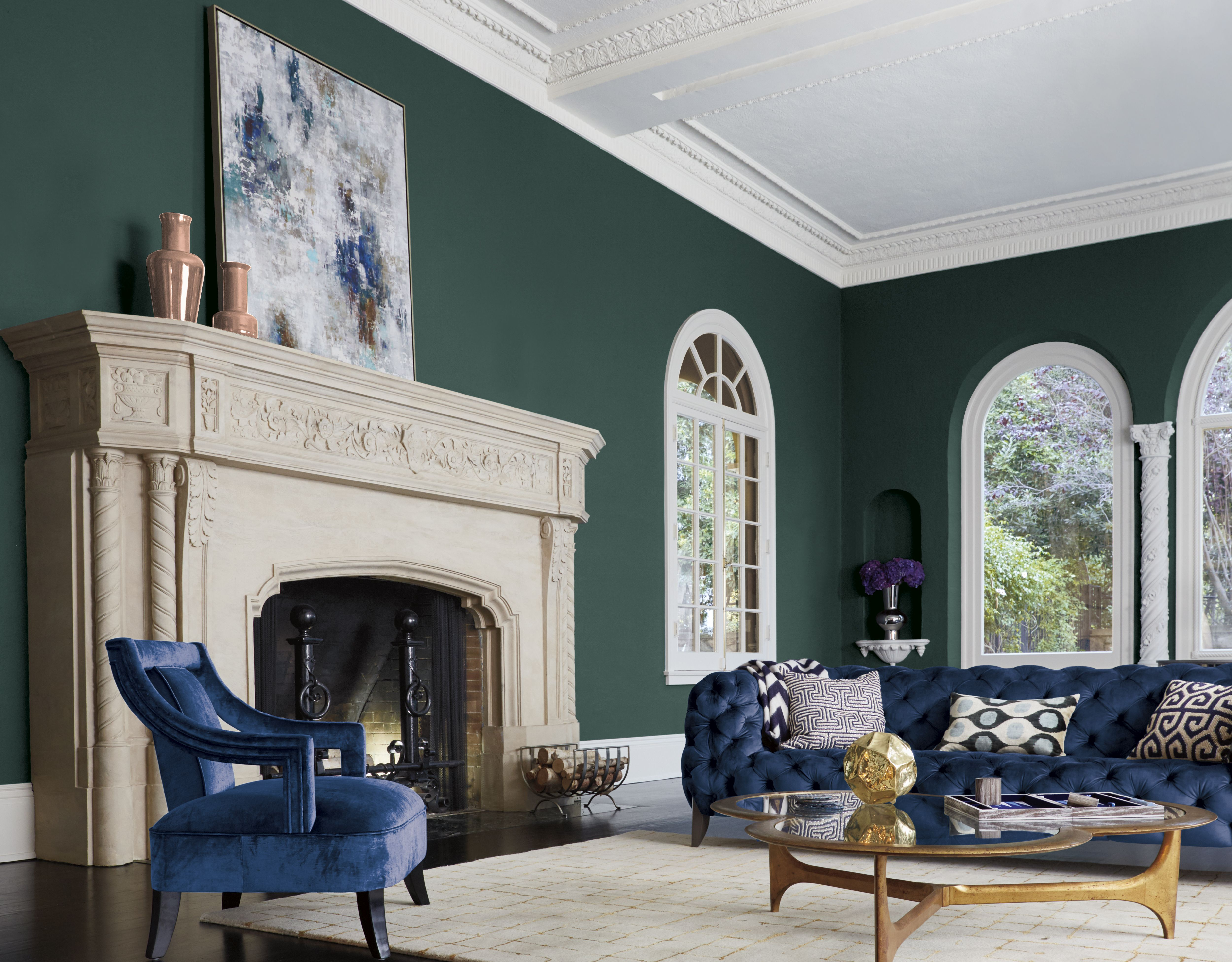 "Pratt & Lambert Paints Names ""Leafy Bower"" the 2017 Color of the ..."