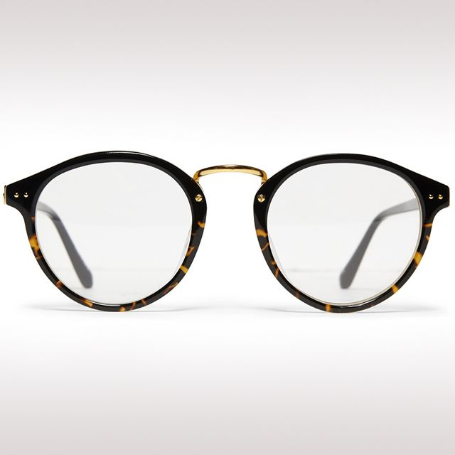 Round-Frame Glasses by Linda Farrow Luxe