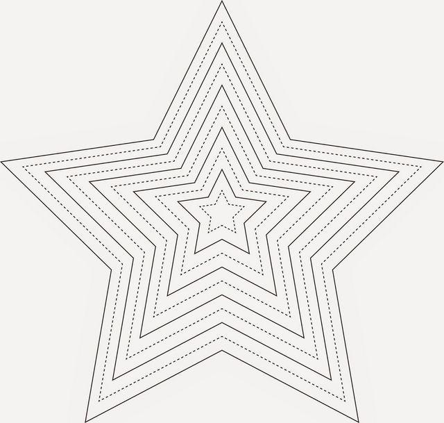 sternenhimmel schnabelina  vorlage stern sterne