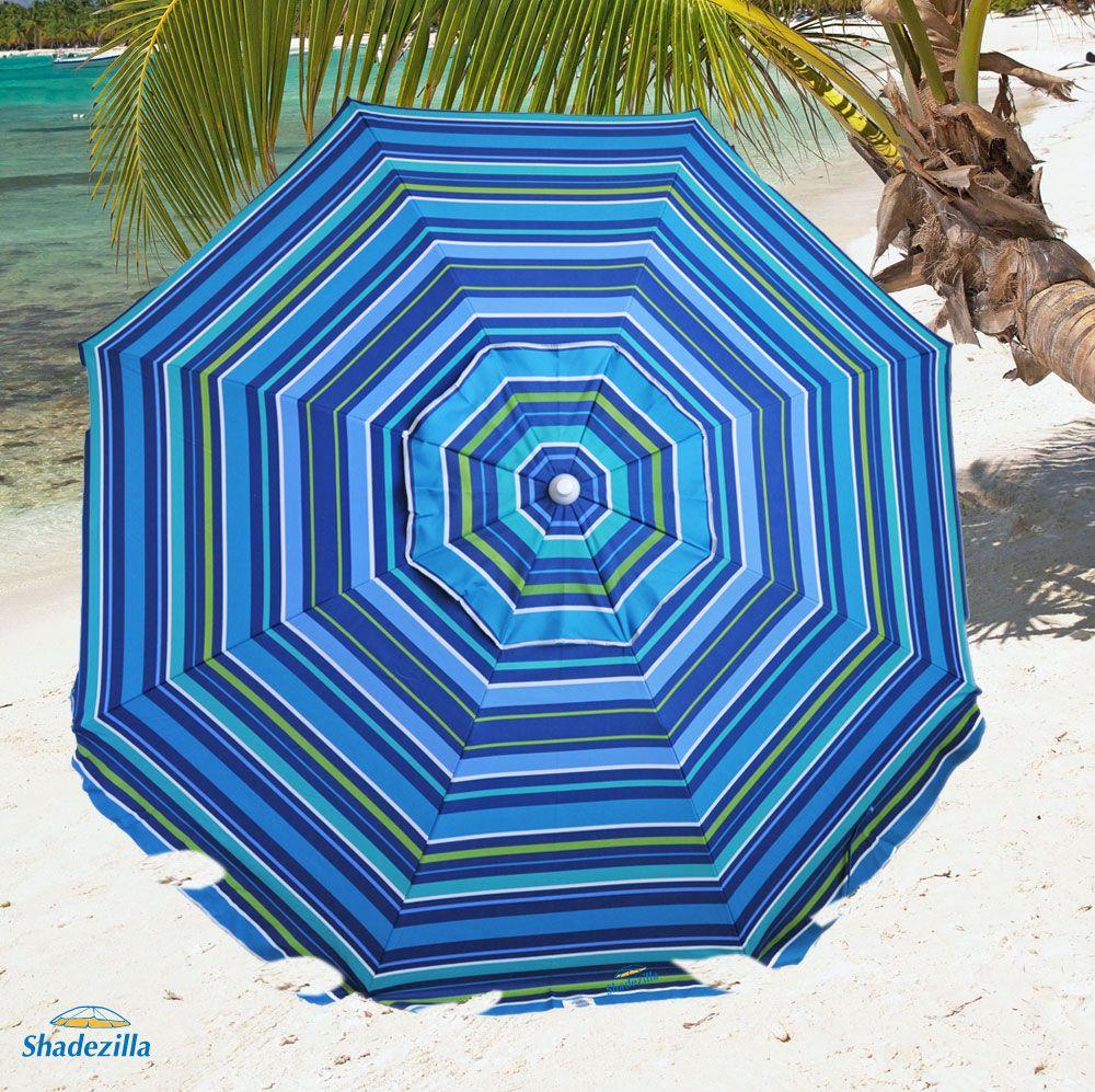 8 ft Fiberglass Beach Umbrella UPF100 79.90