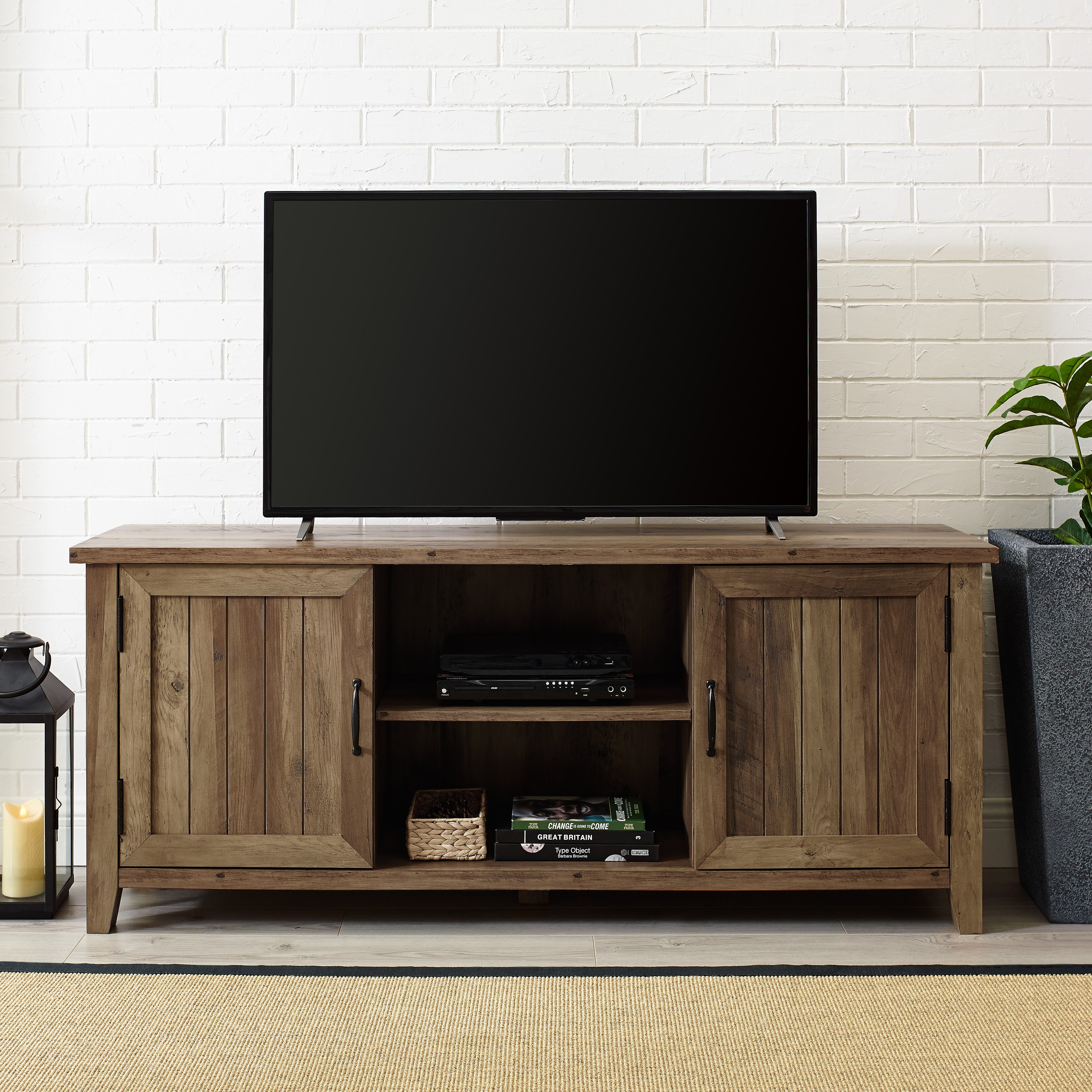 Home Oak tv stand, Farmhouse tv stand, Wood tv stand rustic