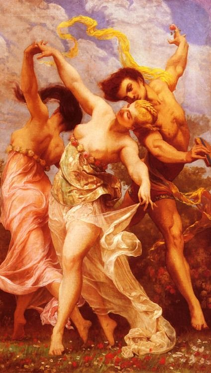 The Amorous Dancers - Gustave Boulanger 19th century