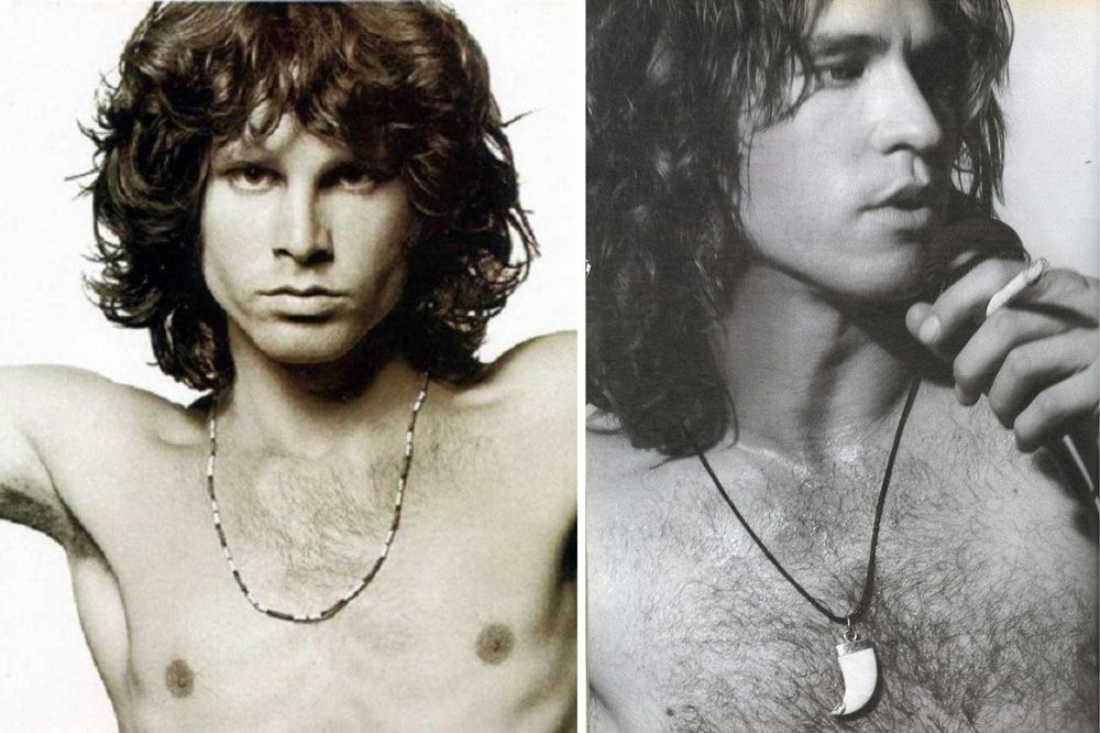 Val Kilmer Jim Morrison Comparison