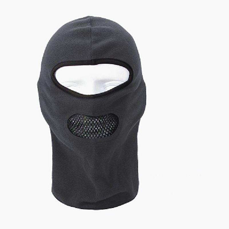 db5e82dfb3e Fleece Balaclava Neck CS Hat Hood Outdoor Sports Ski Bicycle Full Face Mask  Hat Cap