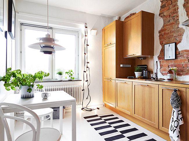 Un apartamento con menos de 40 metros pero mucho estilo Interiors - Ideas Con Mucho Estilo