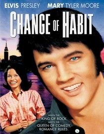 Change of Habit.... I loved this movie. There was more real acting in this movie than some  of the others. Mary Tyler-Moore co-stared  as a nun that fell in love with the handsome young doctor,,,guess who.