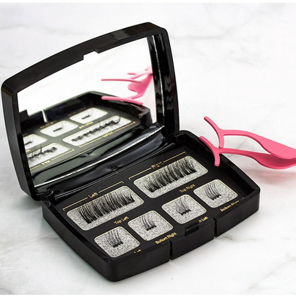 PRETTYSEE 6 Pcs Women Beauty Tools Set Bathroom Makeup Cosmetic Mirror  Light Eyebrow Tweezer False Eyelashes Magnetic Natural. Yesterday's price:  US $8.97 ...