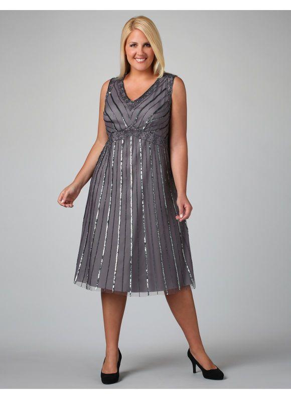 plus size sabrina dress at catherines | catherines | plus size