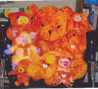 My Pigs & Bears for MS (Multiple Sclerosis) Awareness & Support that I couldn't Sale or even Give Away :( !!!