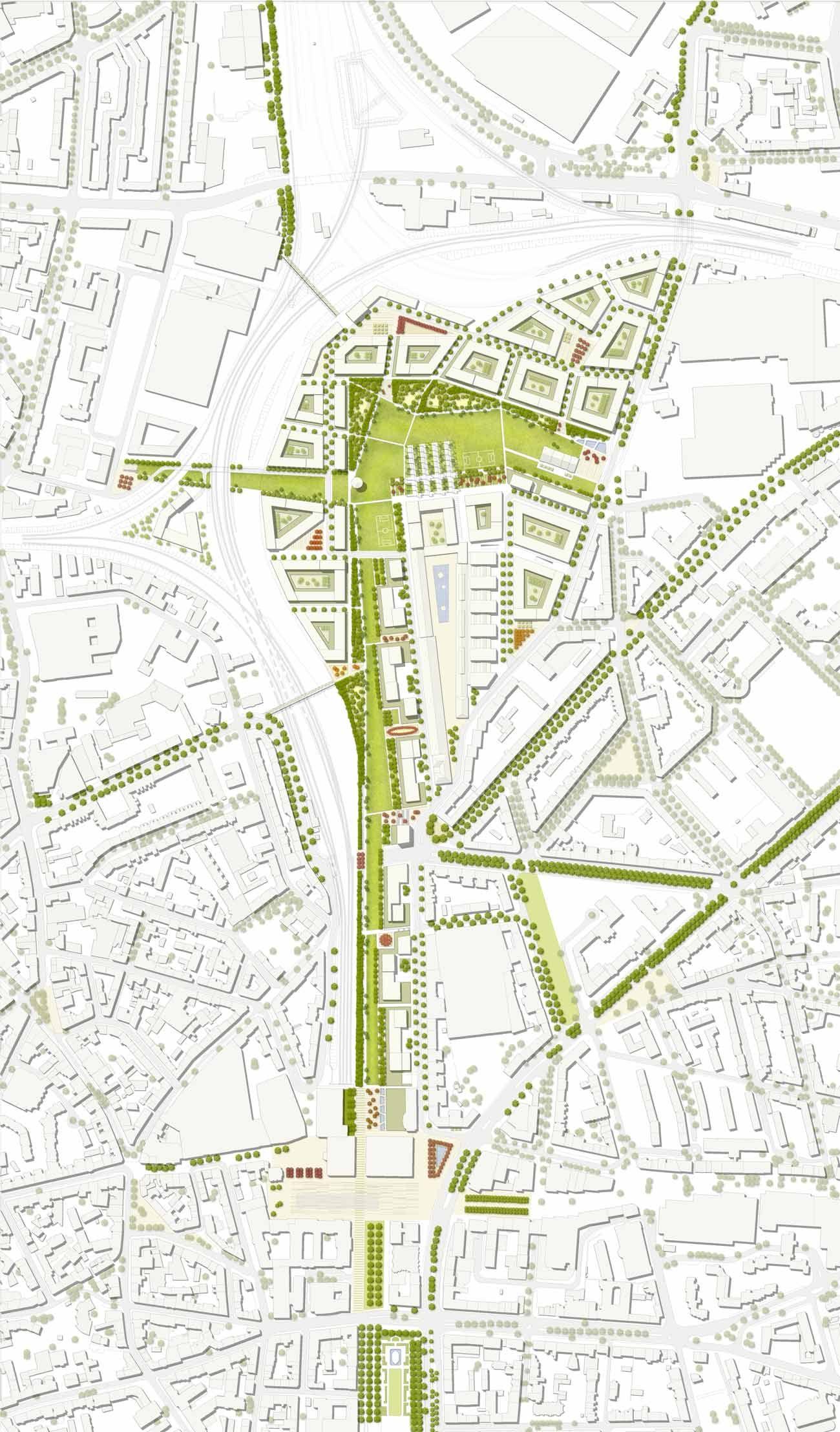 1st prize entwurf 1 2000 drawings plans concepts for Architektur design studium