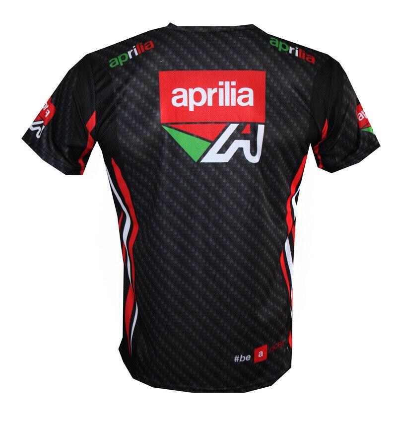Aprilia T-shirt Camiseta Maglietta Motorrad Motorcycle Biker Tuono Caponord RSV4