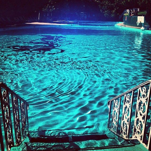 Time To Cool Off In The Outdoor Swimming Pool Grand Hotel Mackinac Island Michigan Mackinac Island