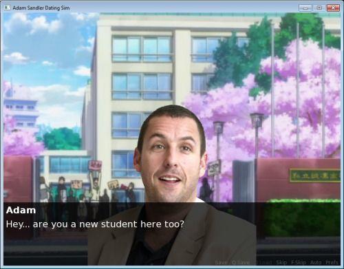 Adam Sandler Hookup Sim Play Online