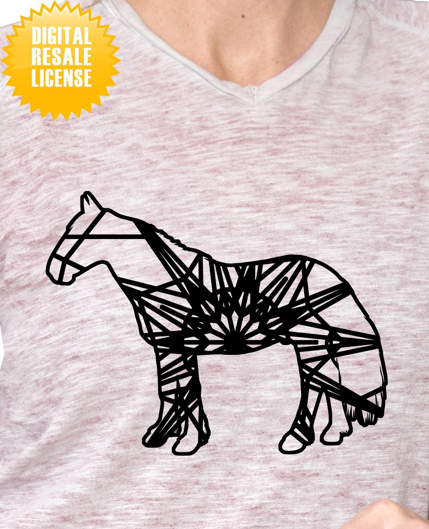 Mustang Mandala Winter Edition SVG Digital Image Sell