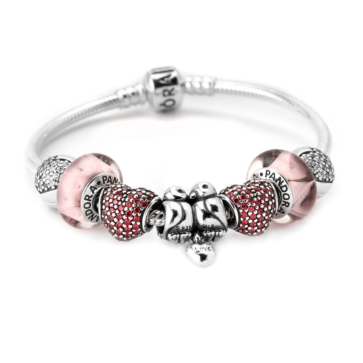 pandora love birds bracelet pandora valentines day 2013 cute gift ideas for her from him the perfect gift for a wife fiance love of your life - Pandora Valentines Bracelet