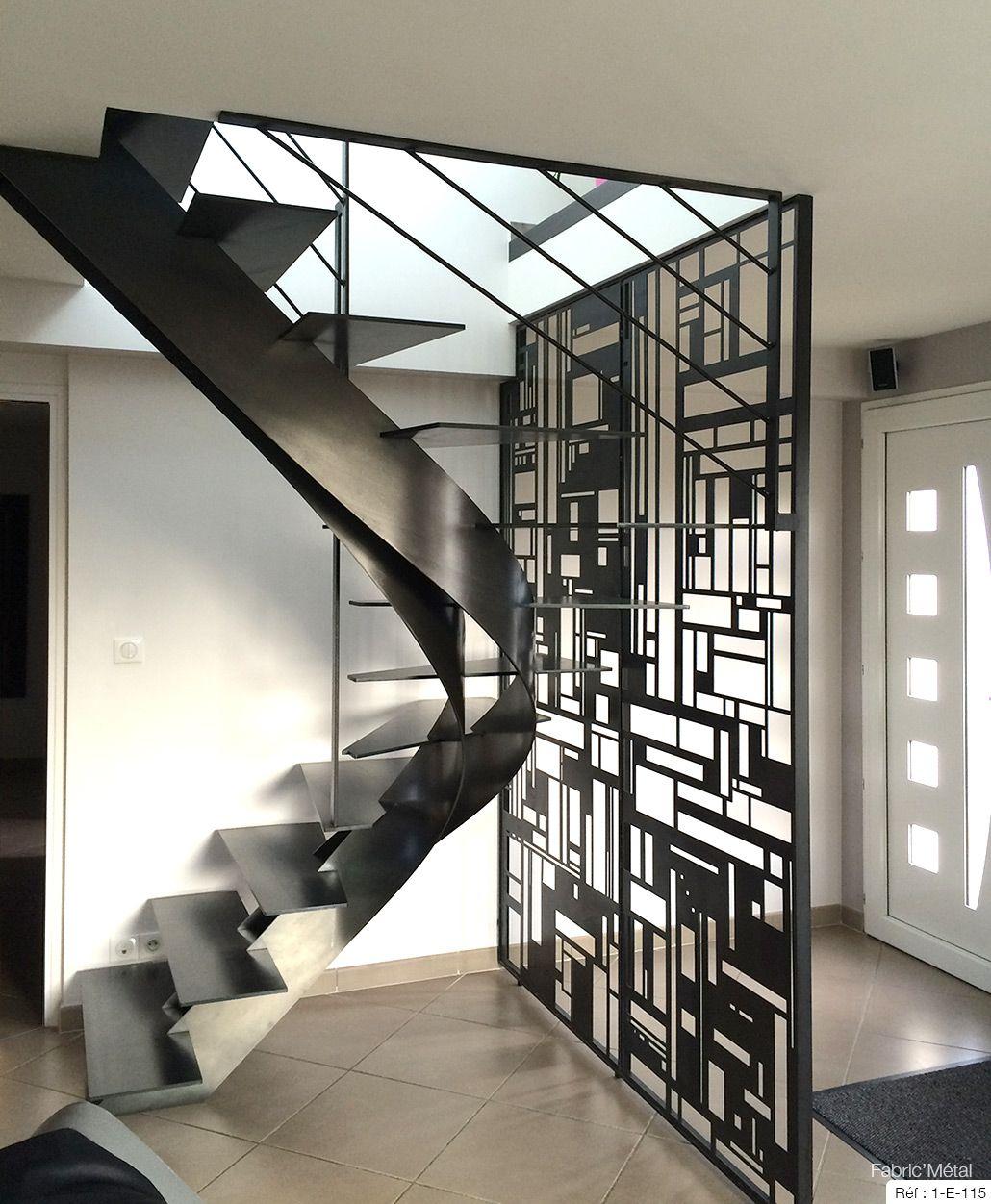 Fabricant Escalier Metal Bretagne Vannes Lorient Rennes
