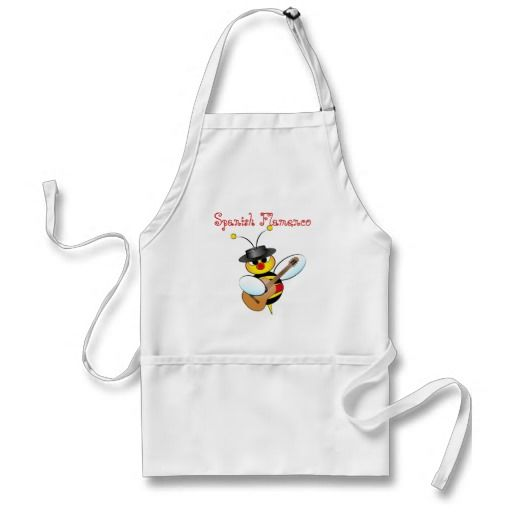 Spanish Flamenco Apron