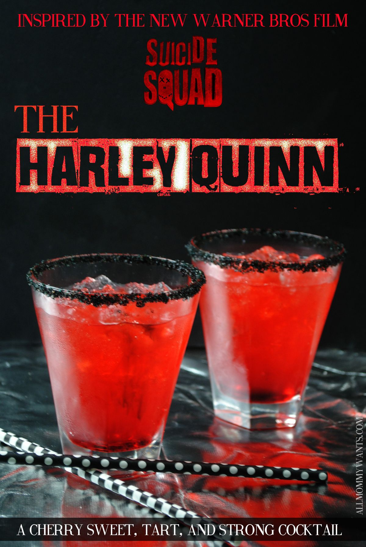 Suicide Squad Inspired Cocktail - The Harley Quinn http ...