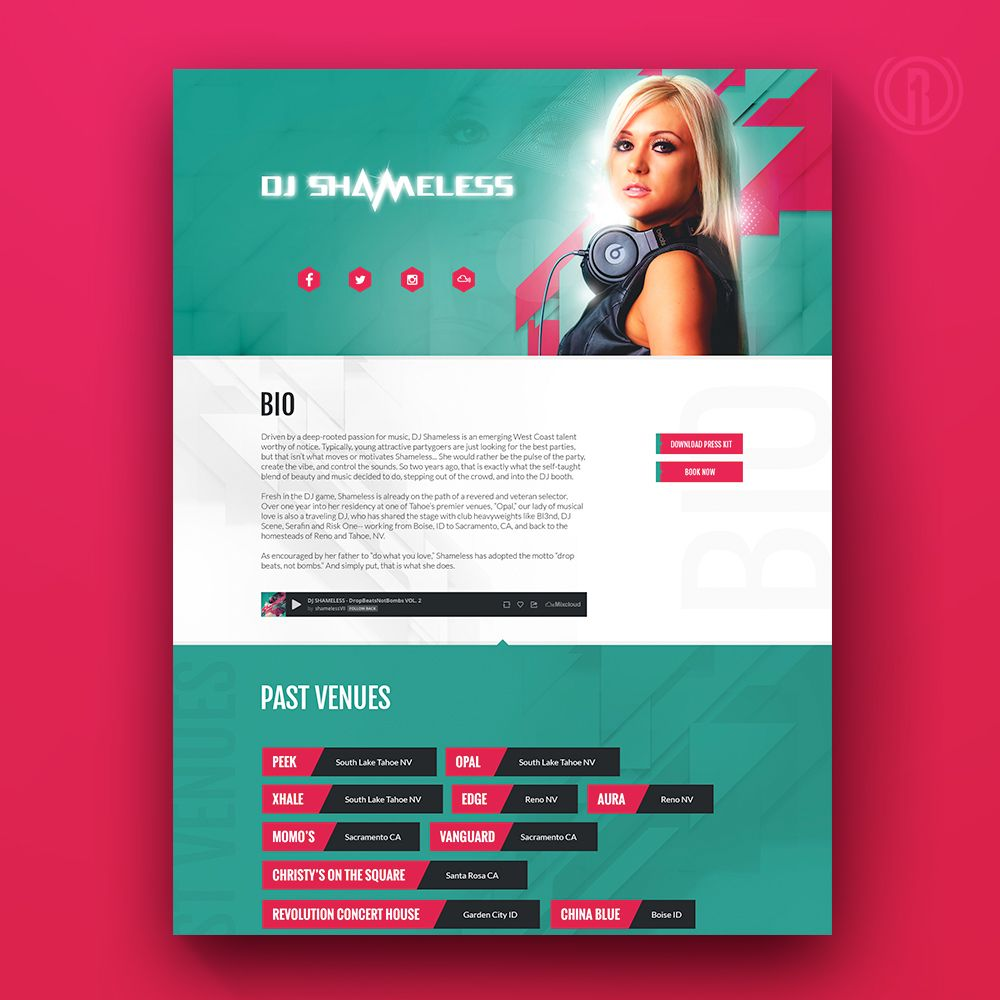 Our Custom Single Page Websites Are A Great Solution For The Budget Conscious Entrepreneur Giving You The Opp Webpage Design Web Graphic Design Website Design