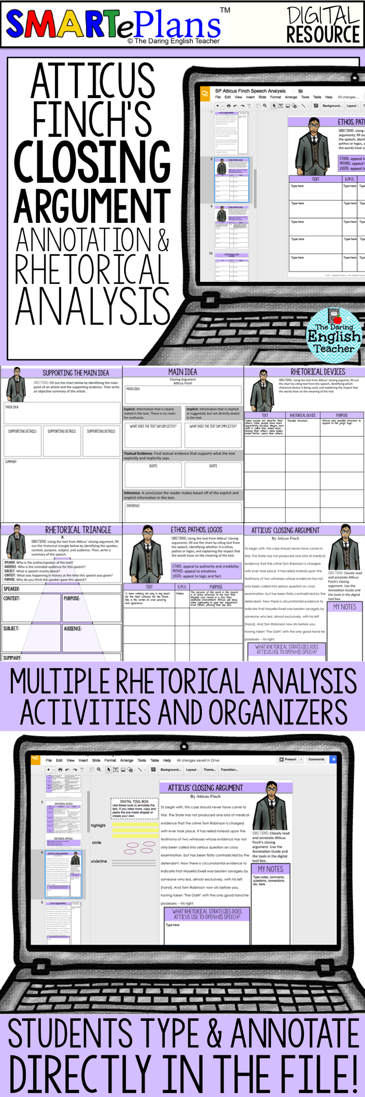 kill mockingbird atticus speech analysis For to kill a mockingbird, a character map helps students remember the characters, and their interactions with scout, jem and atticus many of the characters in the novel are dynamic, changing over the course of the book.