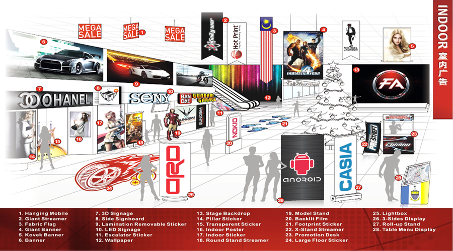 Hot print design advertising banner printing signage and malaysia information product printing banner flyer name card billboard signage bunting reheart Choice Image