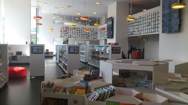 En Cesilds Tilværelse: På besøg på Ørestads Bibliotek