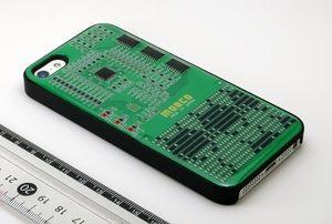 iPhone case created with electronic component. オリジナルmoeco iphone5/5s ケース【電子部品でデザイン出来るカスタムiphoneケース】