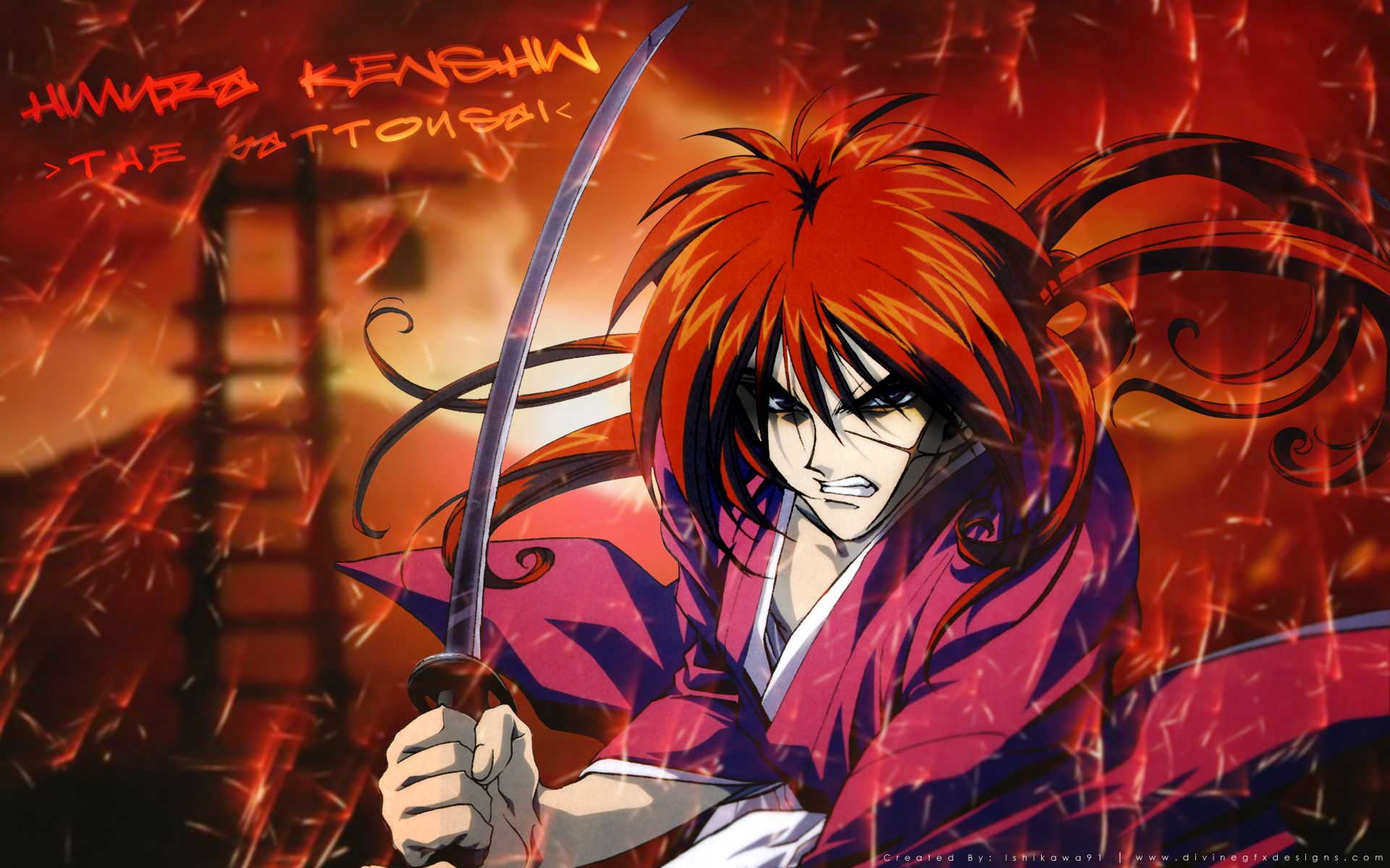 RurouniKenshinWallpapers034 Anime, Cartoon wallpaper