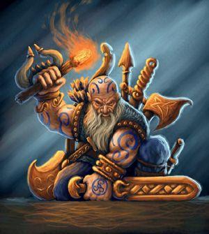 Let them burn #dwarf #rpg #d&d