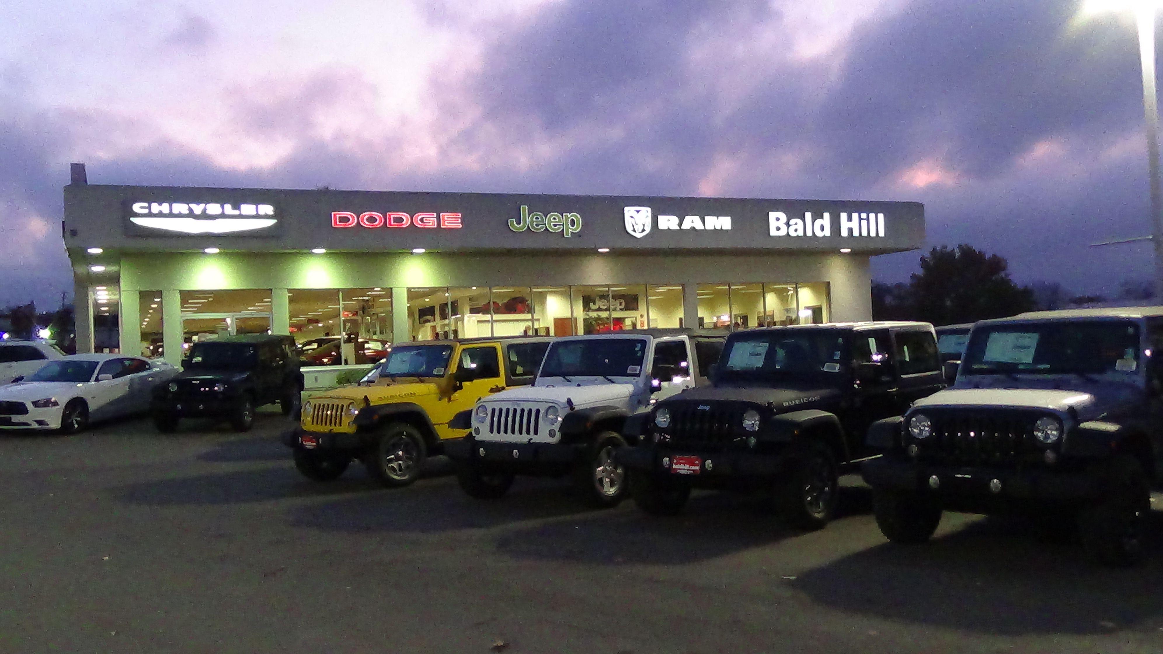 Bald Hill Dodge Chrysler Jeep RAM in Warwick RI