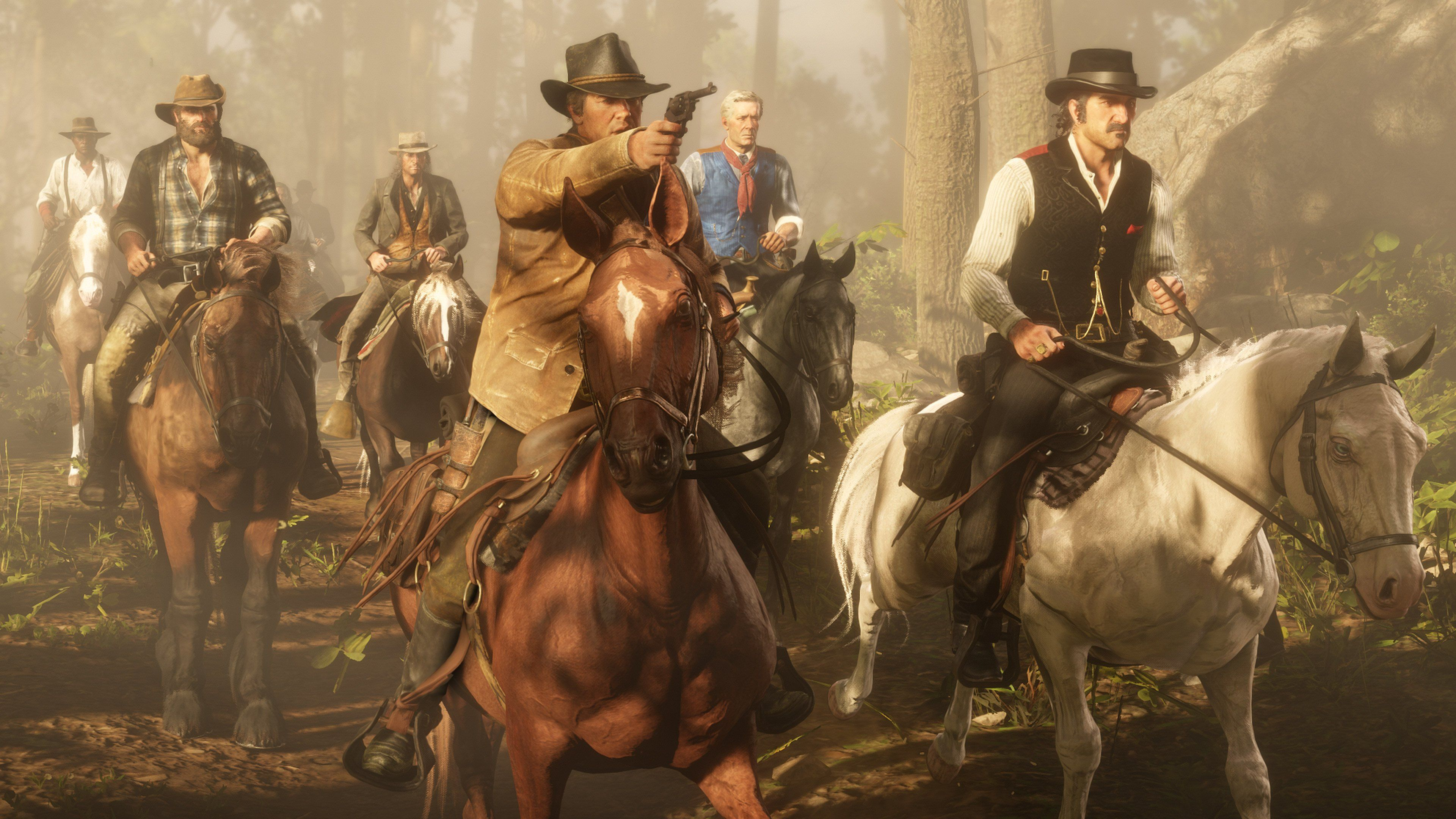 Red Dead Redemption 2 Dutch S Gang Arthur Morgan Dutch Van Der Linde Red Dead Redemption Horses Red Dead Online Red Dead Redemption