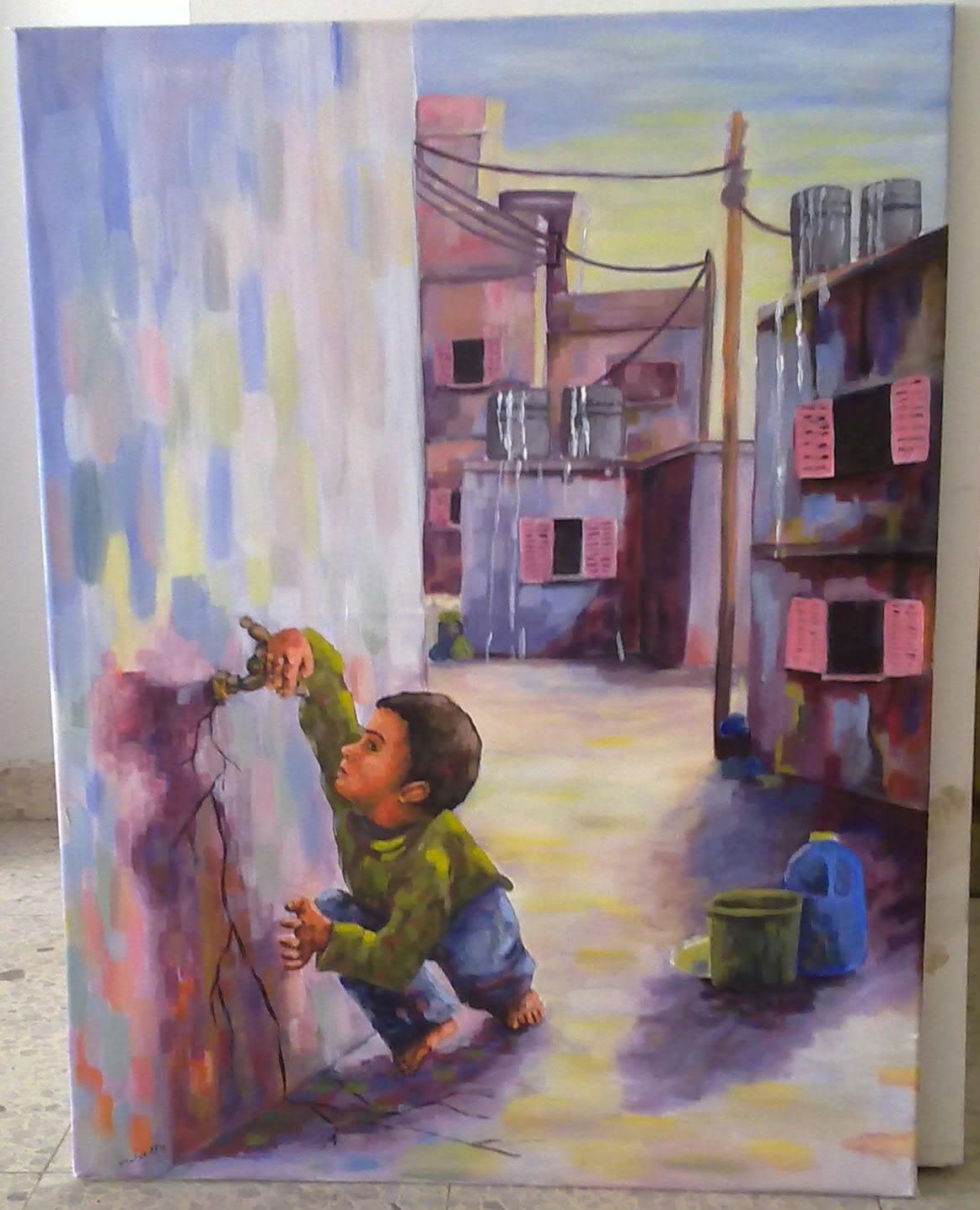 2011رسم وائل أبو يابس