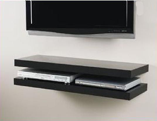 Floating Media Shelves Above Tv Floating Media Shelf Installations Floating Media Shelf Tv Shelf Floating Tv Shelf