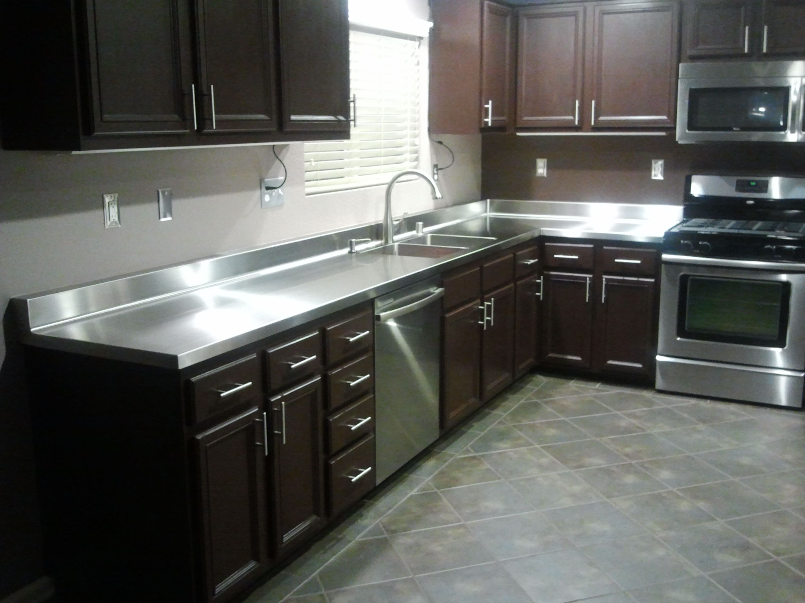 Stainless Steel Countertops 2560x1920 Fab Wright Inc