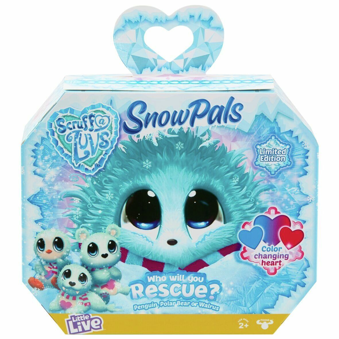 Scruff A Luvs Rescue Pet Surprise Soft Toy Snow Pals In 2020 Little Live Pets Toys For Girls Kids Toys