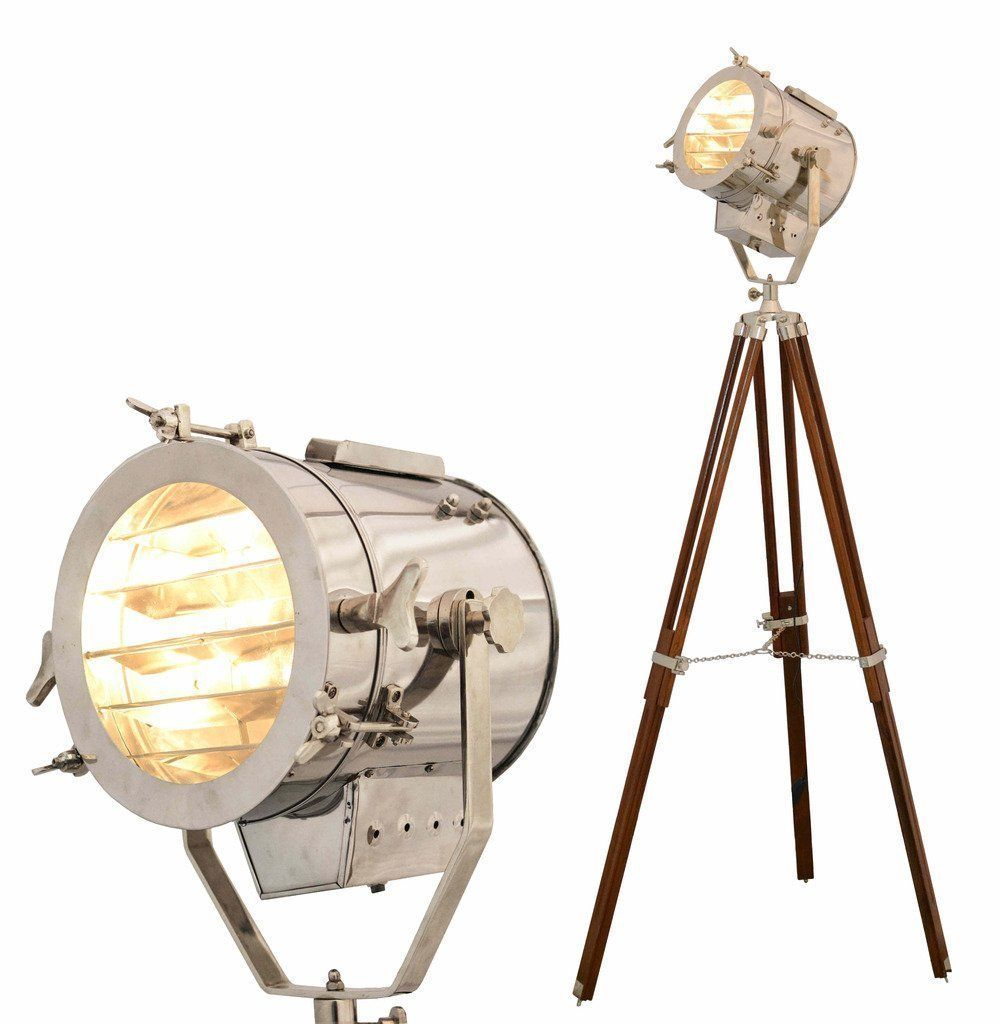 NAUTICALMART Floor Lamp Home Decorative Vintage Design Tripod Lighting  Searchlight Spot Light: Amazon.co