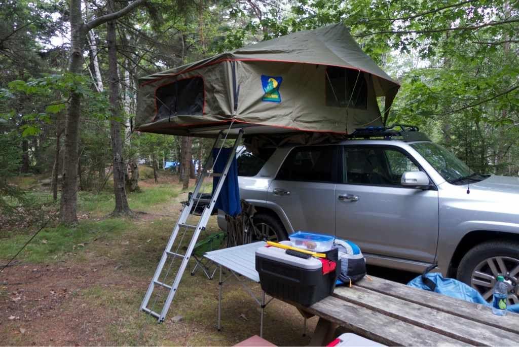 Roof top tent on GOBI stealth - Toyota 4Runner Forum