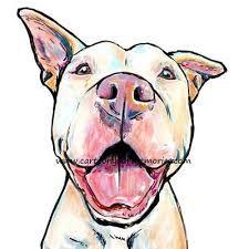 Image Result For Cartoon Pitbull Pitbull Art Dog Drawing Pitbull Drawing