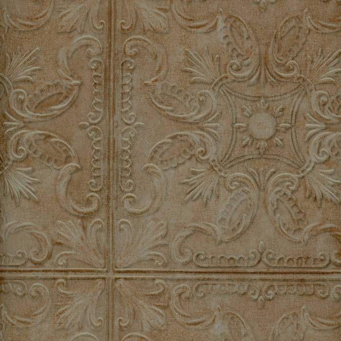 Wallpaper Old Fashion Classic Tin Ceiling Tile Look Faux Verdigris Green Copper Tin Ceiling Tin Ceiling Tiles Tin Tiles