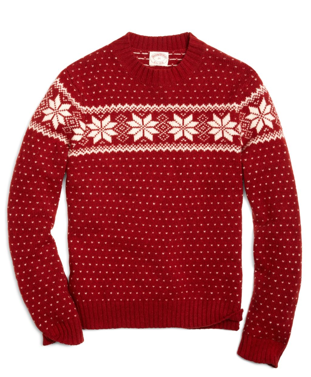 Snowflake Fair Isle Crewneck Sweater | ├ HIS STYLE ┤ | Pinterest ...