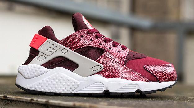Nike Huarache Wmns Aire Serpiente De Color Rojo Con Negro Ver descuento comprar barato realmente nyE1Es