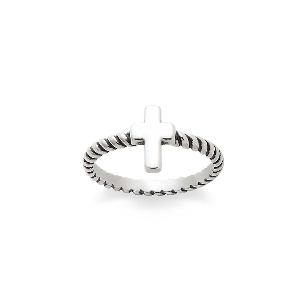 Twisted Wire Cross Ring - James Avery