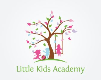 Daycare Logo Design Kids Child Care Sprout Preschool Childrens Education Daycares