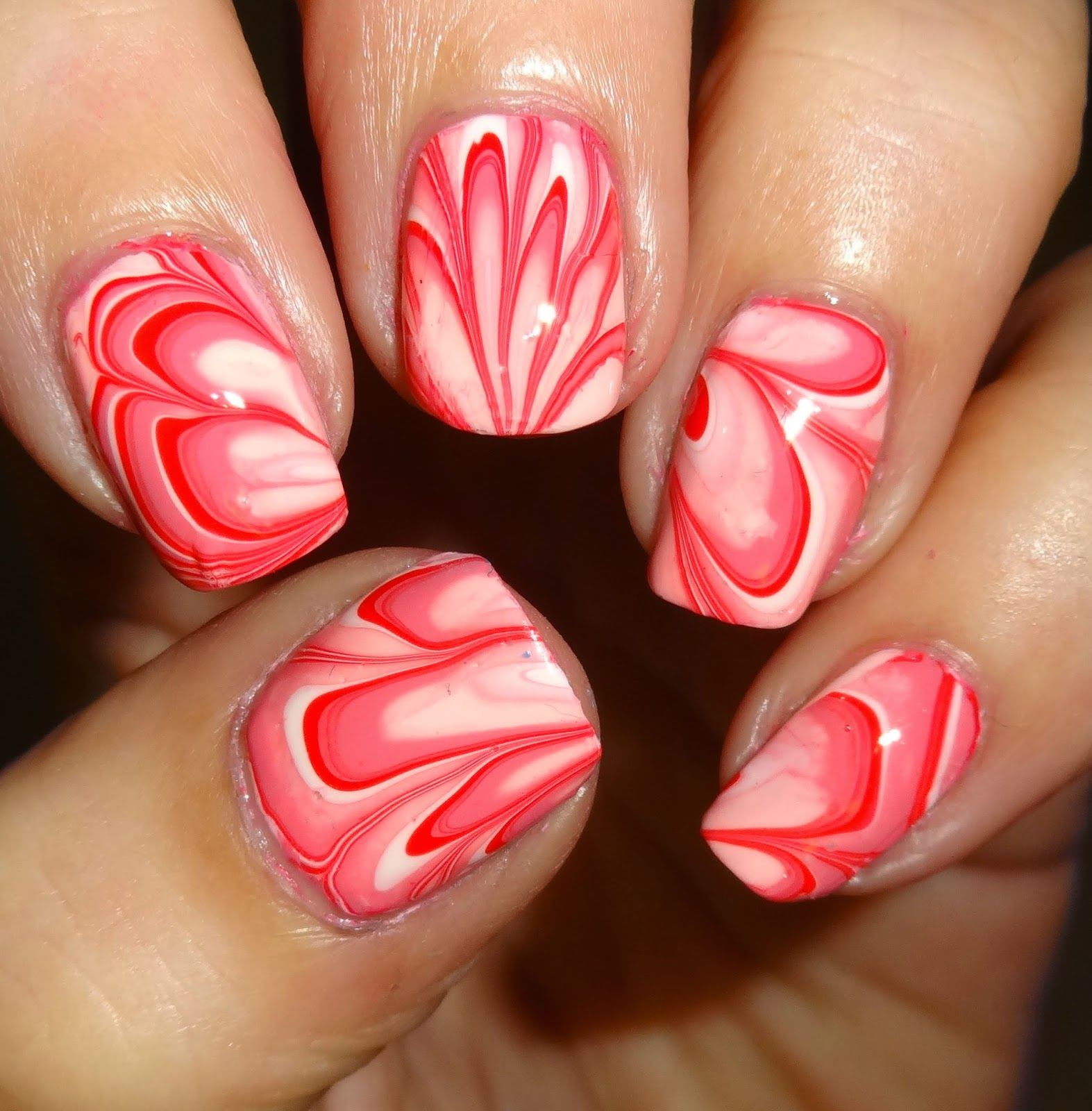 Wendy's Delights: No Dip Pink Water Marbling
