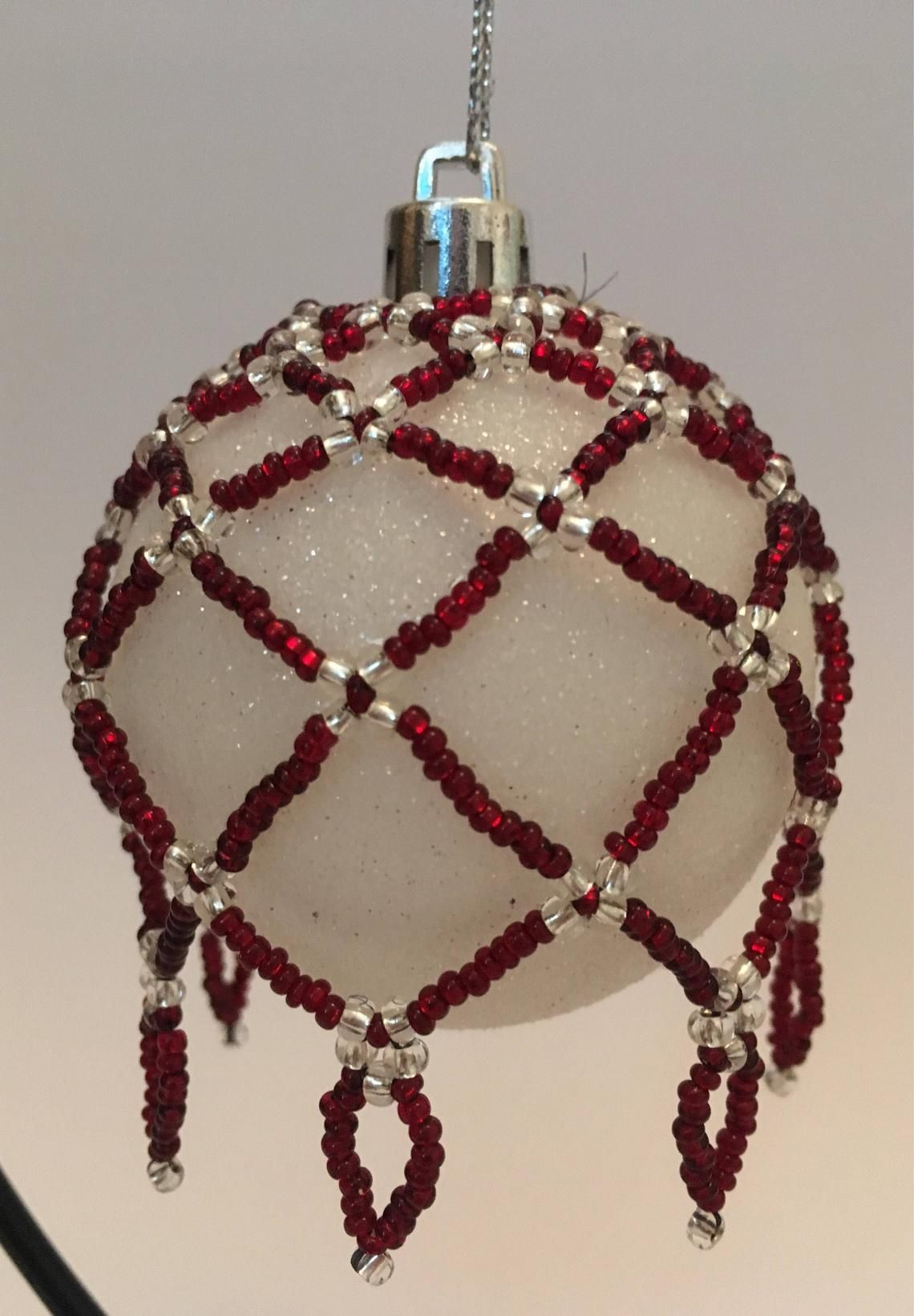 This Item Is Unavailable Etsy Beaded Christmas Ornaments Christmas Tree Decorations Tree Decorations