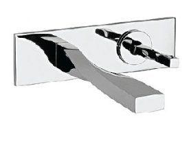 Badezimmerarmaturen Test ~ Altmans sr11pc spira single control wallmounted lav faucet