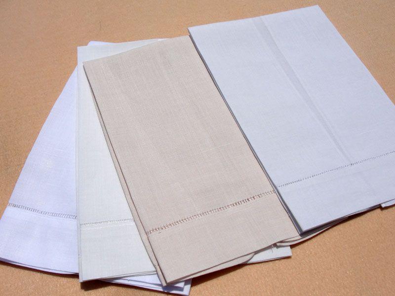 Linen Hemstitch Tea Towel With Images Linen Tea Towel Tea
