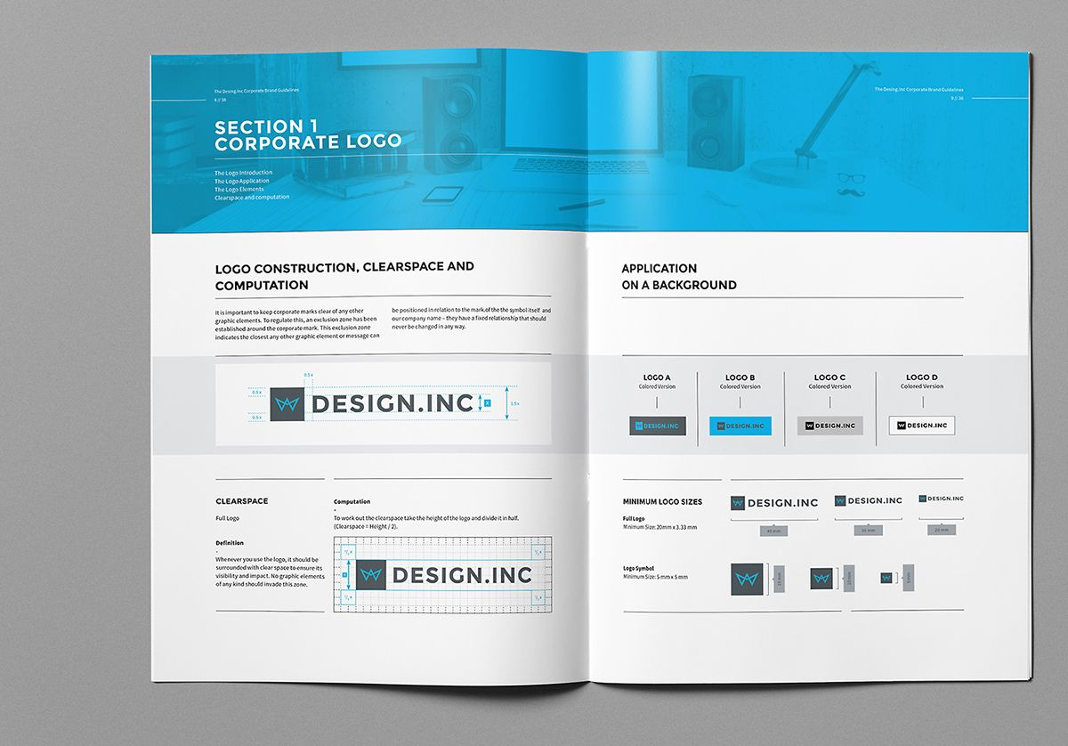 Brand Manual on Behance | Branding | Pinterest | Brand manual, Adobe ...