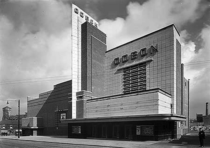 "https://flic.kr/p/ecv4SY | Odeon Burnley 1937 | The Odeon Burnley built in 1937 by Architects Rosenfield and Bullivant with seating for more than 2000 people with its excellent ""Fin Tower"" design (EH Archive Image)"